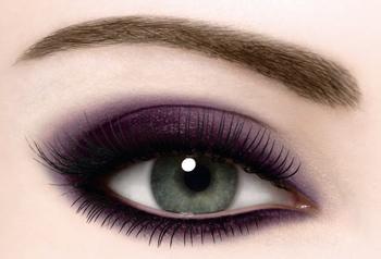 Фото примера макияжа Смоки Айс