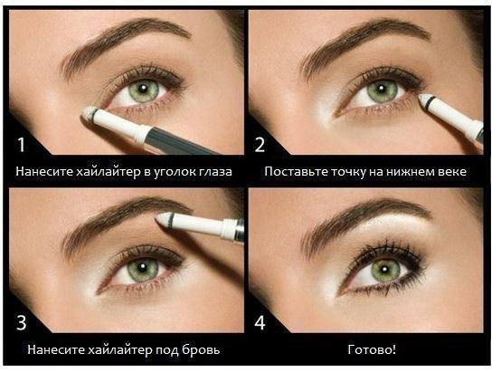 Миндалевидные глаза (классические)